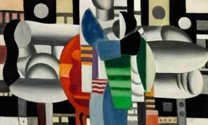 Fernand Leger's Trois Femmes à la Table Rouge