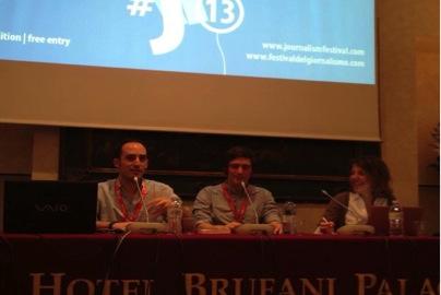"""Festival del giornalismo 2013: """"L'ospite"""" di Andrea Marinelli"""