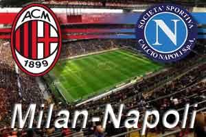 Milan – Napoli 1-1, Pandev risponde a Flamini