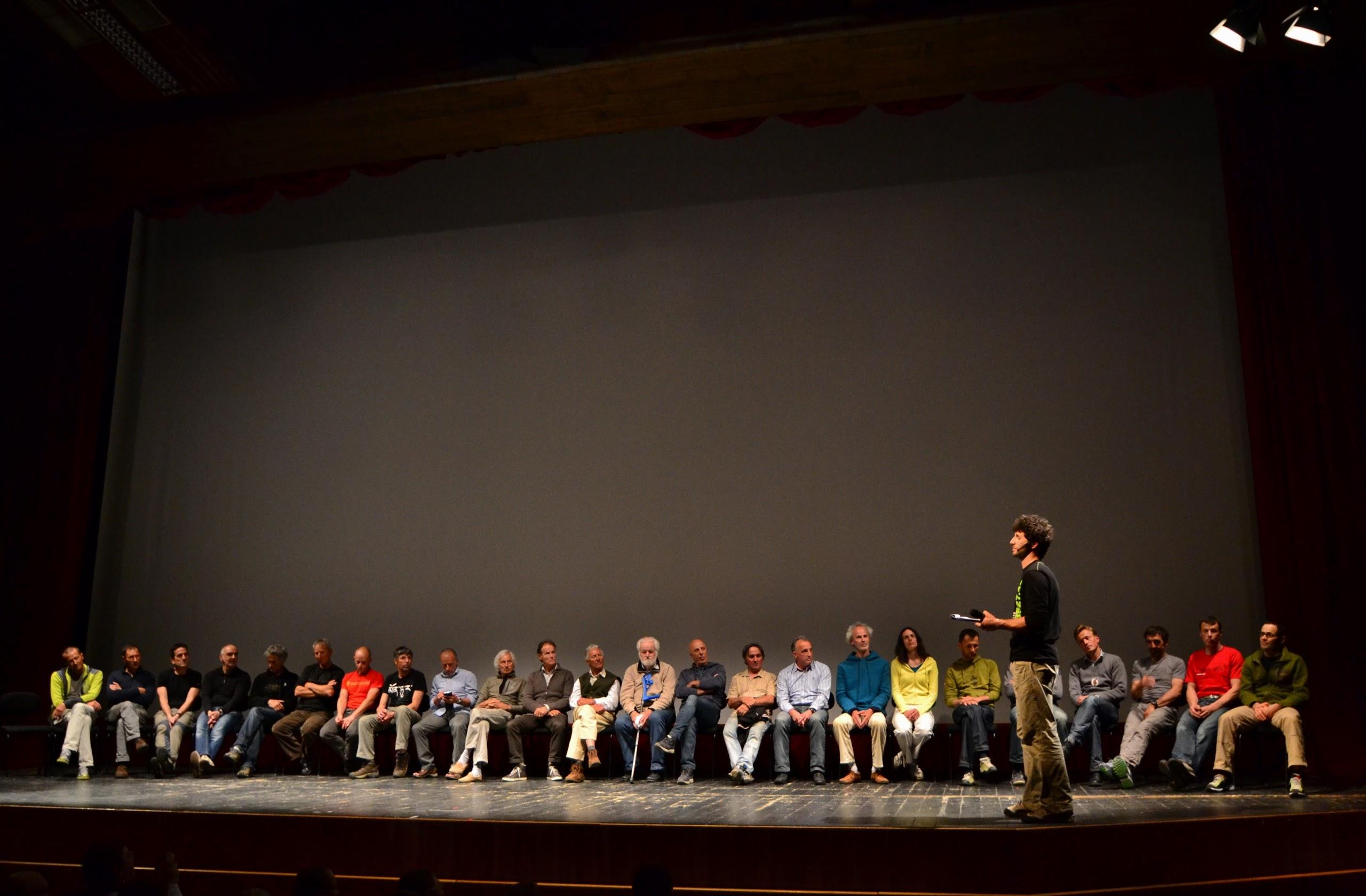 """24 su un palco: le scalate """"Dolo-Mitiche"""" e gli interpreti trentini e altoatesini delle loro linee"""