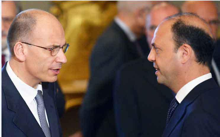 Il Premier bacchetta i ministri Alfano e Lupi, che non si piegano. Terreno minato per il governo