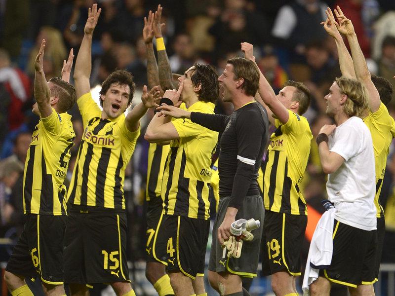 Il Real vince, ma ad esultare è il Borussia