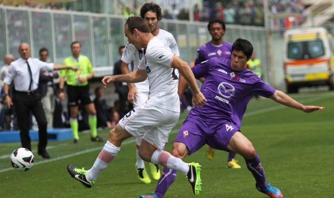 Sotto la pioggia di Firenze, la Fiorentina conquista l'Europa e condanna il Palermo