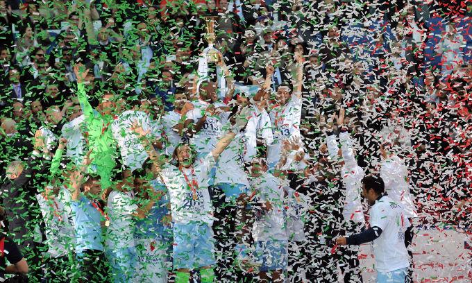 Goduria Lazio! I biancocelesti vincono il derby e conquistano la sesta Coppa Italia