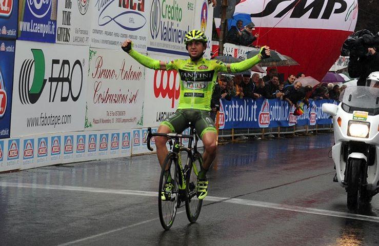 Santambrogio è l'uomo delle nevi: a lui la 14° tappa del Giro! Nibali consolida il primato