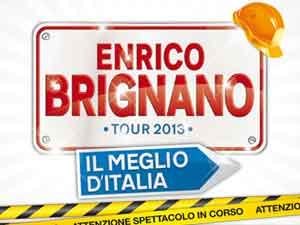"""Nuovo show di Enrico Brignano: """"Il Meglio d'Italia"""""""