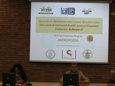 """Pet – therapy: una terapia indolore. Convegno a """"Città della Scienza"""" a Napoli"""