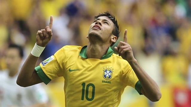 """Confederations Cup – Brasile """"toda joia"""": 3-0 al Giappone."""