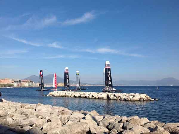 Napoli: sospetti e indagini sulla Coppa America. Coinvolti cinque personaggi illustri della città