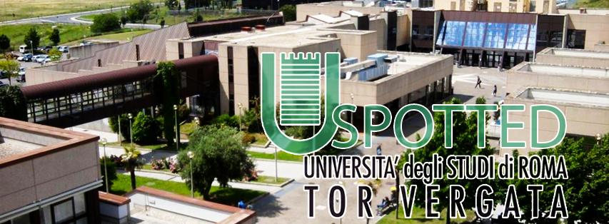 Apre la rubrica settimanale di Spotted Tor Vergata. La prima classifica!