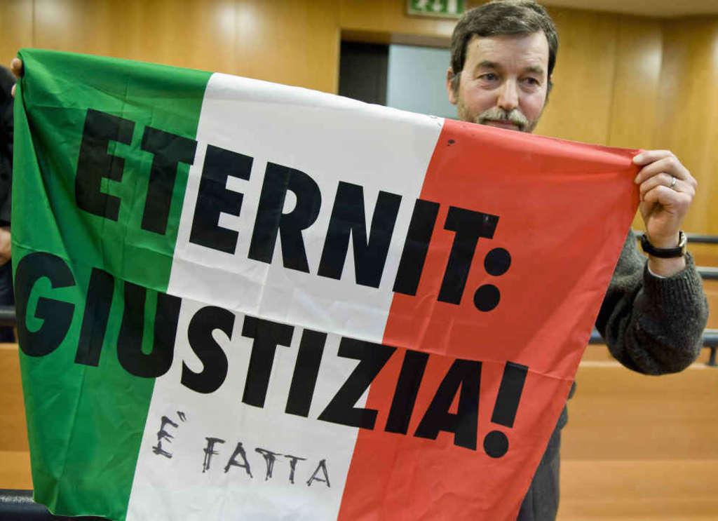 Processo Eternit: in appello condanna a 18 anni di reclusione per Schmidheiny
