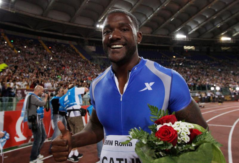 Sorpresa al Golden Gala di Atletica:  Gatlin soffia la vittoria a Bolt…