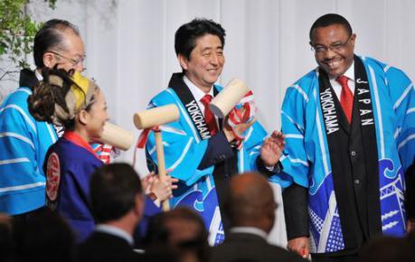 AFRICA: aiuto di 10 miliardi di euro dal Giappone