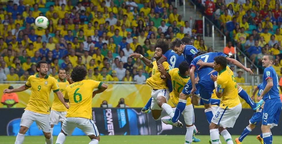 Il Brasile cala il poker,4-2 all'Italia
