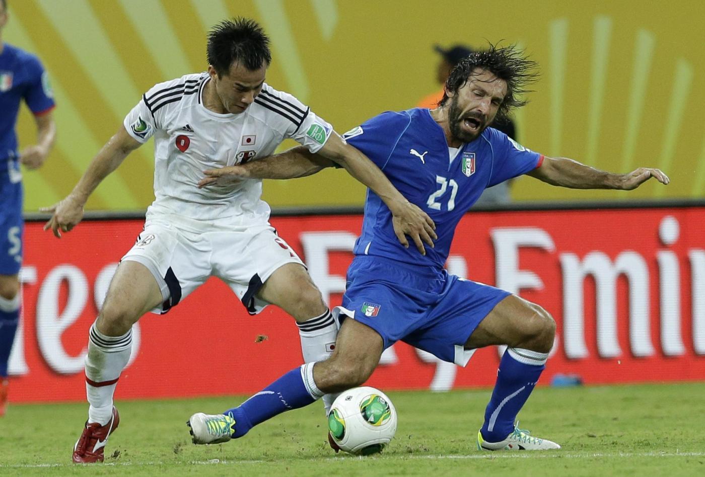 CONFEDERATIONS CUP: Gli azzurri superano un grande Giappone, finisce 4 a 3