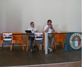 Presentazione del libro Anonymous di Manuel Giannantonio