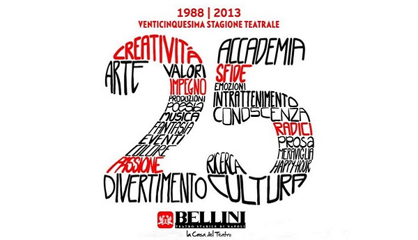 Teatro Bellini di Napoli: presentata la sua 25esima stagione