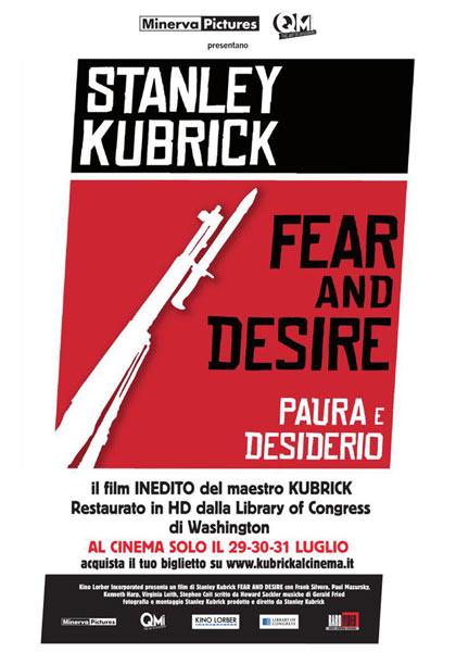 """Omaggio a Stanley Kubrick: proiezione di """"Fear And Desire"""" in 90 sale italiane"""