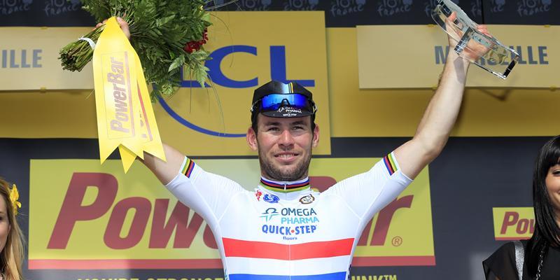 Tour de France: vittoria per Cavendish. Froome rimane indietro, salta Valverde!