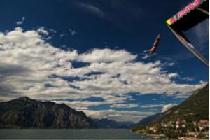 Redbull cliff diving