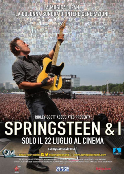 """Springsteen & I"" arriva in 230 sale italiane"