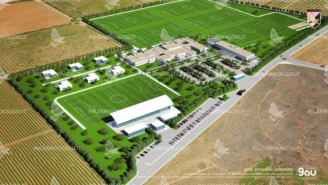 Calcio, anche il Palermo avrà il suo centro sportivo all'avanguardia
