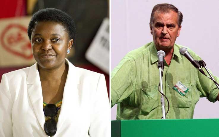 Calderoli offende la Kyenge: chieste le dimissioni. Minacce in rete anche per la Carfagna
