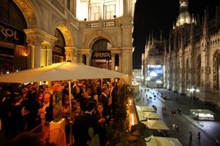 Milano: Energia  rock sulla terrazza Aperol