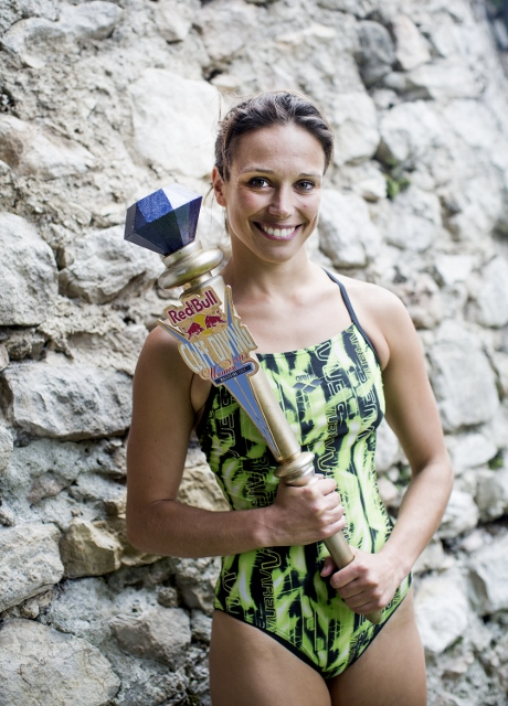 Anna Bader regina del Red Bull Cliff Diving 2013 di Malcesine