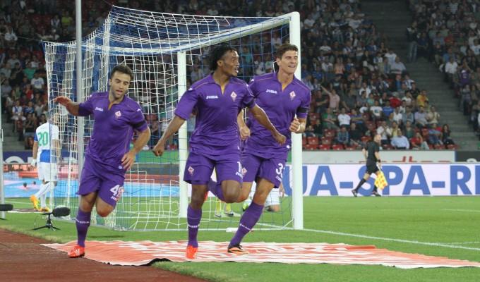 La Fiorentina perde ma conquista l'Europa