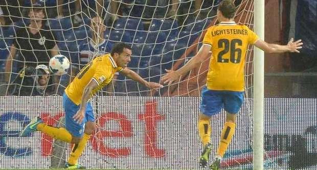 La Juve riparte col sorriso: 1-0 alla Samp e subito prima.