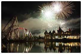 Successo dell'Italia nel mondiale dei fuochi d'artificio di Rainbow Magicland