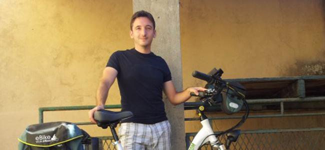 Marco Flavio Invernizzi presenta il suo Giro d'Italia e del Mondo in bici elettrica!