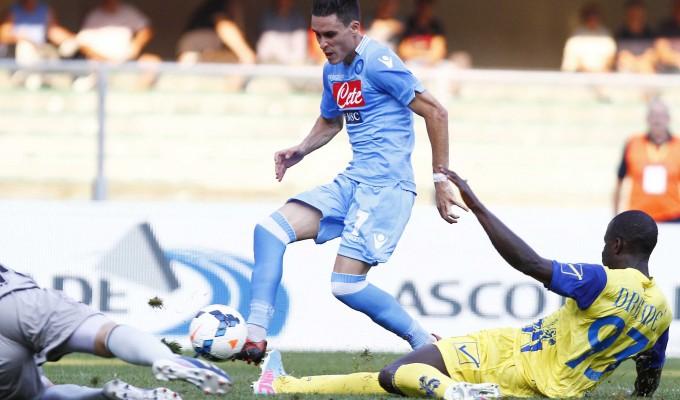 Poker del Napoli: vittoria per 4-2 contro il Chievo