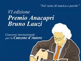 Sesta edizione del Premio Anacapri Bruno Lauzi Canzone d'Autore