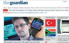 """GranBretagna: il """"Guardian"""" denuncia le pressioni di Londra per il Datagate"""