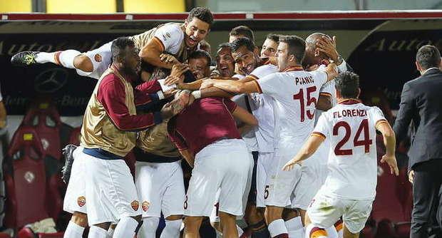 La Roma riparte dai romani: 2 a 0 al Livorno