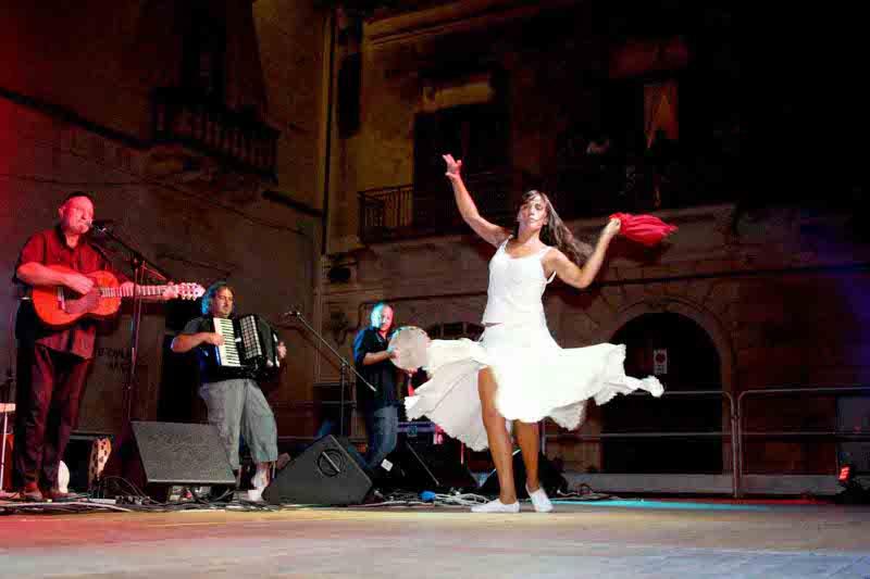 La notte della Taranta a Melpignano: passione e professionalità