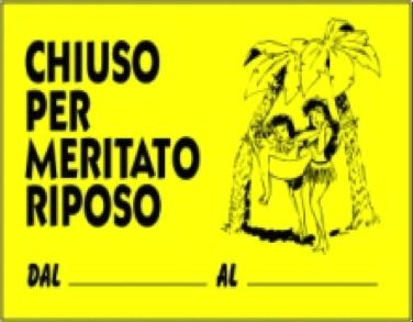 I problemi italiani hanno le ferie lunghe