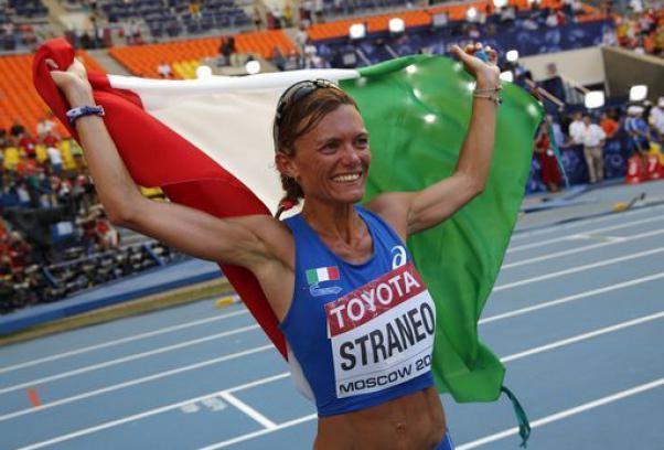 Sorrisi italiani ai Mondiali di Atletica in Russia: Straneo conquista l'argento nella Maratona.