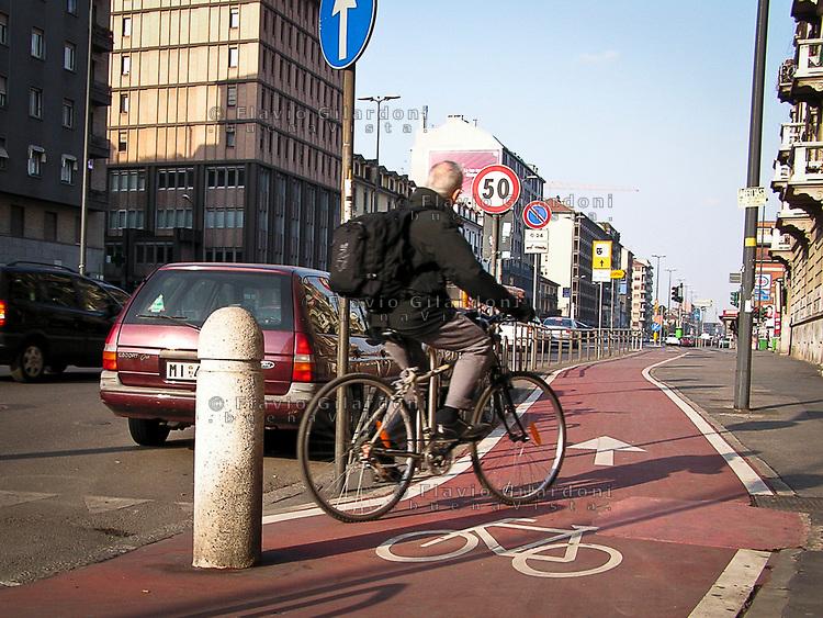 Milano: ciclisti il Comune vi conta! L'iniziativa durante la Settimana europea della Mobilità