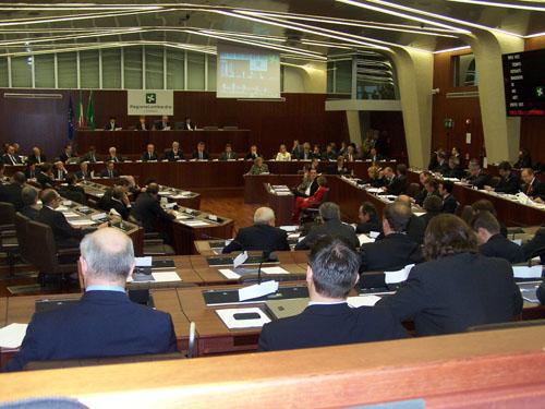 Riprende l'attività del Consiglio regionale in aula rinnovata ed ipertecnologica