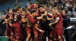 La Roma in testa da sola!