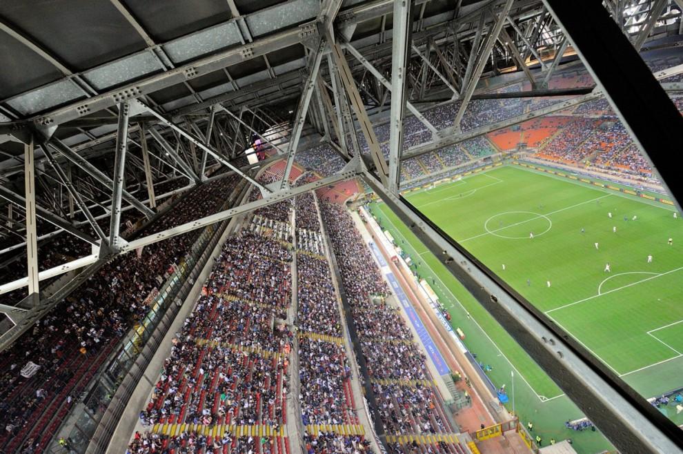 Lo stadio di San Siro: uno dei cuori pulsanti della città di Milano