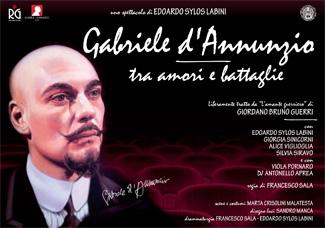"""""""Gabriele d'Annunzio, tra amori e battaglie"""" al Manzoni di Milano"""