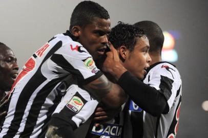 Udinese-Parma 3-1 : buona prova dei Friulani. Ancora poco convincente Antonio Cassano