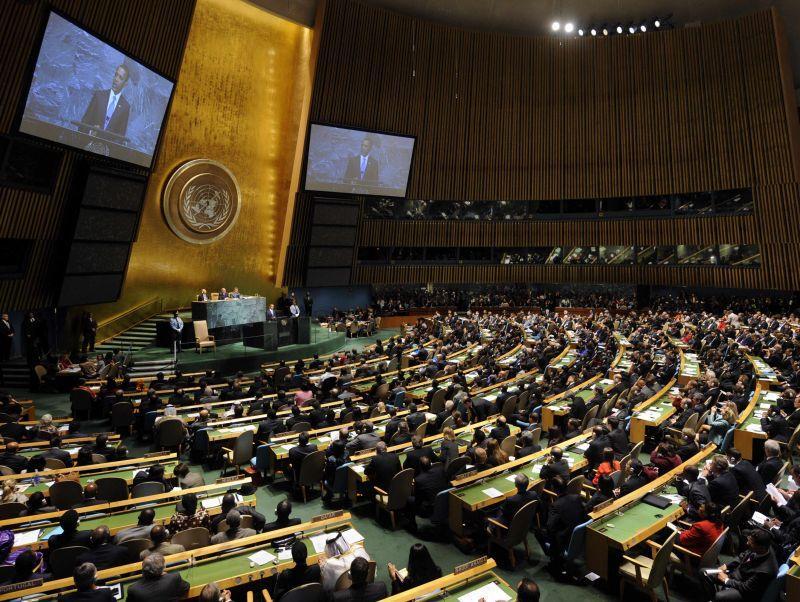 Stati Uniti: guerra e pace all'ONU