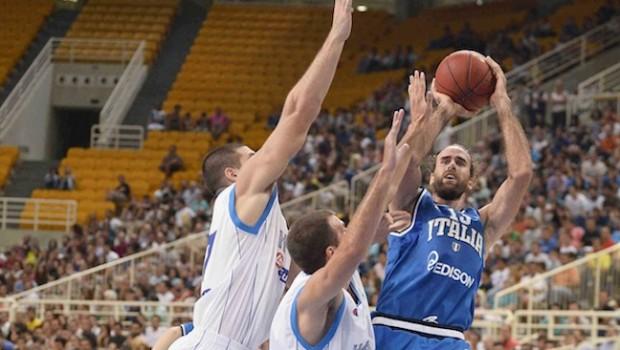 Basket, Europeo: l'Italia supera anche la Grecia. È primato e qualificazione