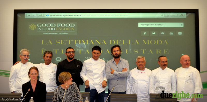 Good Food in Good Fashion: la settimana della moda e gli aperitivi fashion