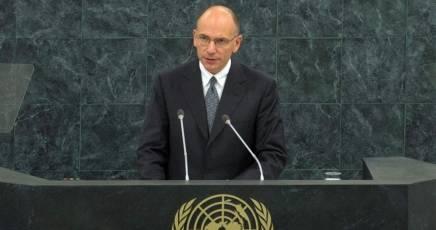 Letta: il PDL umilia l'Italia